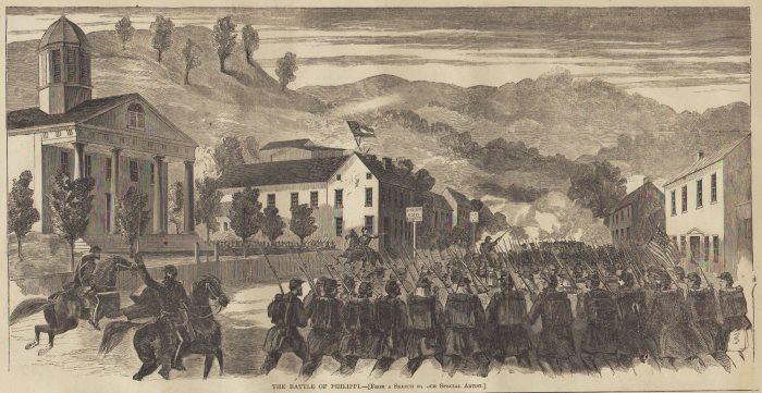 Image result for battle of philippi virginia