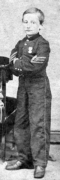 Johnny Clem 'Drummer Boy of Chickamauga'