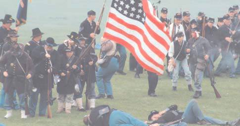ACWS Union Infantry in Battle 2003